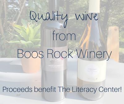 Boos Rock Winery Bottle