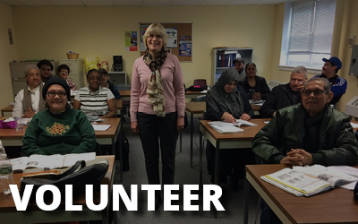 Adult Literacy Volunteer | The Literacy Center